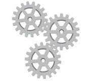 Ilustración de Gears.Vector Fotos de archivo libres de regalías