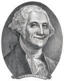 Ilustración de George Washington Foto de archivo