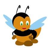 Ilustración de la abeja Foto de archivo