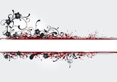 Ilustración de la bandera, backgroun stock de ilustración