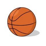 Ilustración de la bola del baloncesto Fotografía de archivo libre de regalías