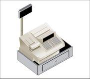 Ilustración de la caja registradora Imágenes de archivo libres de regalías
