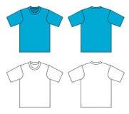 Ilustración de la camiseta Fotos de archivo