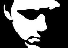 Ilustración de la cara ilustración del vector
