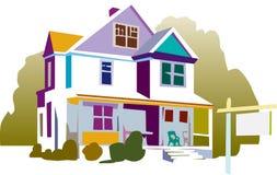 Ilustración de la casa Foto de archivo libre de regalías