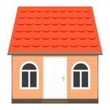 Ilustración de la casa ilustración del vector