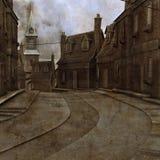 Ilustración de la ciudad industrial
