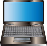 Ilustración de la computadora portátil