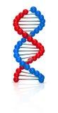 Ilustración de la DNA Fotografía de archivo