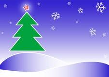 Ilustración de la Feliz Navidad Imagen de archivo
