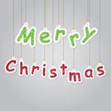 Ilustración de la Feliz Navidad Fotografía de archivo