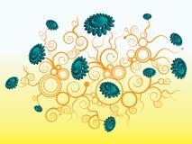 Ilustración de la flor stock de ilustración