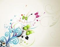 Ilustración de la flor del vector Fotos de archivo