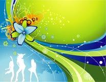 Ilustración de la flor del vector Fotos de archivo libres de regalías