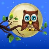 Ilustración de la historieta Owl Fotografía de archivo