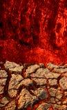 Ilustración de la lava fotos de archivo