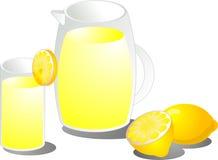 Ilustración de la limonada stock de ilustración