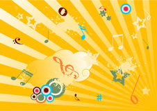 Ilustración de la música de Grunge libre illustration
