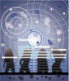 Ilustración de la música del vector Fotografía de archivo