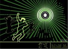 Ilustración de la música del vector Foto de archivo