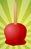 Ilustración de la manzana de caramelo Fotografía de archivo libre de regalías