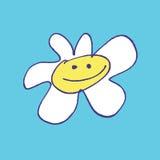 Ilustración de la margarita Imagen de archivo