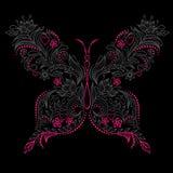 Ilustración de la mariposa Fotografía de archivo libre de regalías