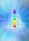 Ilustración de la meditación Foto de archivo libre de regalías