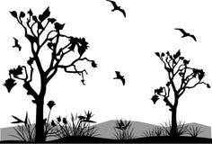 Ilustración de la naturaleza del vector Imagen de archivo libre de regalías