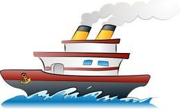 Ilustración de la nave stock de ilustración