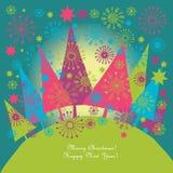 Ilustración de la Navidad Fotografía de archivo
