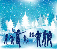 Ilustración de la Navidad ilustración del vector
