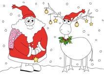 Ilustración de la Navidad Imagen de archivo