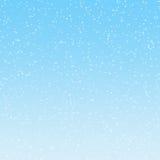 Ilustración de la nieve que cae Imagen de archivo libre de regalías