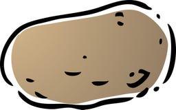 Ilustración de la patata Fotografía de archivo libre de regalías