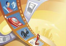 Ilustración de la película Foto de archivo libre de regalías
