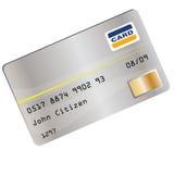 Ilustración de la tarjeta de crédito Imágenes de archivo libres de regalías
