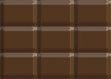Ilustración de la textura del chocolate con leche Fotos de archivo libres de regalías