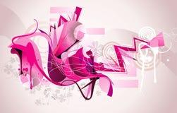 Ilustración de la tinta del color stock de ilustración