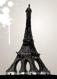 Ilustración de la torre Eiffel Foto de archivo libre de regalías