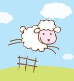 Ilustración de las ovejas Imágenes de archivo libres de regalías
