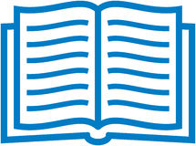 Ilustración de libro del vector Foto de archivo