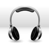 Ilustración de los auriculares Fotos de archivo