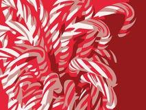 Ilustración de los bastones de caramelo Ilustración del Vector