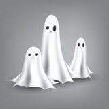 Ilustración de los fantasmas Imágenes de archivo libres de regalías