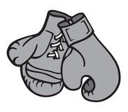Ilustración de los guantes de boxeo Imagen de archivo