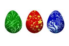 Ilustración de los huevos de Pascua stock de ilustración