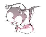 Ilustración de los niños Imágenes de archivo libres de regalías