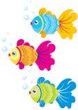 Ilustración de los pescados Foto de archivo libre de regalías