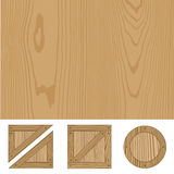 Ilustración de madera del vector de la textura ilustración del vector